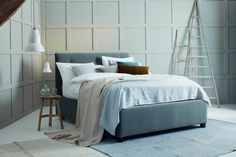 The Josephine Ottoman Storage Bed from Love Your Home offers contemporary design for less. Choose from over 100 fabrics and create your perfect bed. Storage Ottoman, Ottoman Storage Bed, Bed Storage, Contemporary Sofa, Classic Sofa, Modern Storage Beds, Bed, Love Your Home, Sofa Handmade