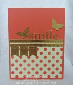 Stamps, Paper, Ink Create!: Sketch class for April Card Two