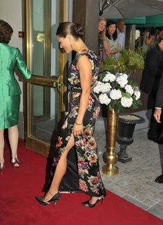 Swedish Crown Princess Victoria arrived to the Polar Music Prize Ceremony 2013 in Stockholm on 27th of August.
