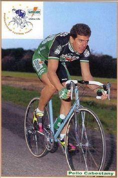 Peio Ruiz Cabestany (15-3-1962) || Professional Team (s): 1984-1987 Orbea, 1988 Kas, 1989-1990 ONCE, 1991 CLAS-Cajastur, 1992-1993 Gatorade, 1994 Euskadi.