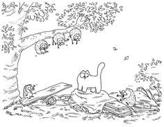 Simon's Cat -  I LOVE watching these videos. They always make me laugh and I do not even have a cat1
