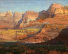 Morning on the Cliffs - Oil by Kathryn Stats
