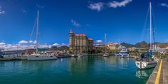 Yachts at Caudan Waterfront by Shadil Eshanally on 500px