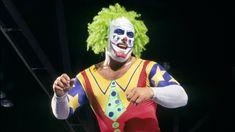 Doink the Clown Luna Vachon, Doink The Clown, Bam Bam Bigelow, Heath Slater, Circus Music, Little Tykes, Survivor Series, Child Smile, Evil Clowns