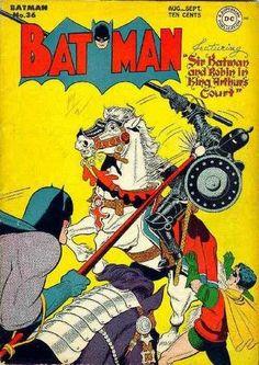 Batman is the best. Batman #36 - Sir Batman and Robin in King Arthurs Court (Issue)