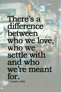 I will never settle, Ever! If it's not right or sort of okay, don't want it! No bargaining for what if's and maybes, inconsistent men should be left where you found them. To play games, it's just who they are...a pattern.♡