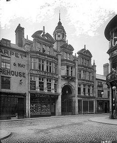 Silver Arcade, Silver Street Entrance,  Silver Street, Leicester, Leicestershire