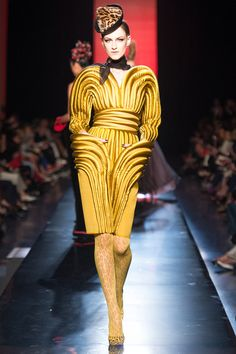 Jean Paul Gaultier Fall/Winter 2013 Couture Collection; modeled by Maria kashleva [July 3, 2013 / Paris]