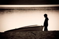 A child and a boat by Renaud Jousselin on 500px