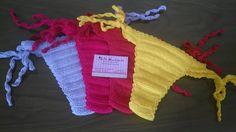 Biquíni De Crochê Calcinha Avulso Com Forro - R$ 59,99 em Mercado Livre