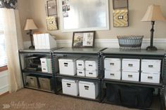 Dining Room to Office and Organization Tips » Ask Anna