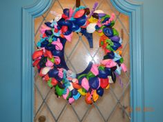 Birthday Balloon Wreath with Team Umizoomi Colors