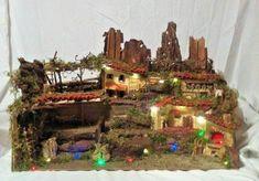 "Presepe artigianale ambientazione scena la""La Vigna Natalizia""(Pellegrini Story) Christmas Tree, Holiday Decor, Ebay, Environment, Teal Christmas Tree, Xmas Trees, Christmas Wood, Christmas Trees"