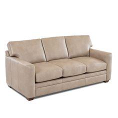 Found it at Wayfair - Carleton Leather Sofa