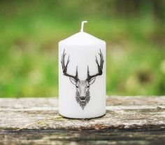 Deer Head Unique Candles Deer Art Deer Decor Fall Candle Home Decor Unique Candles, Fall Candles, Gifts For Coworkers, Gifts For Teens, Candles Wedding, Christmas Gifts For Husband, Christmas Stocking, Deer Head Decor, Deer Art