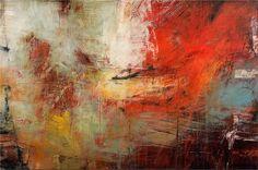 """Ivo Stoyanov, Artist, """"Symbols of Memory"""" #16, 2006, Mixed media on canvas, 40""""x60"""""""