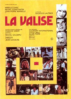 la-valise Michel Constantin, Jean Lefebvre, Georges Lautner, Groupes, France, Images, Movies, Movie Posters, Poster Poster