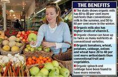 benefits of an organic diet - http://www.hanisorganics.com/benefits-of-an-organic-diet/