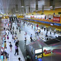 北捷市政府站16:17。MRT Taipei City Hall station 16:17 #InstagramYourCity for #Taipei