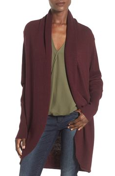 Will be cozied up in this comfy cocoon cardigan all fall long.