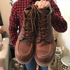 Red Wings Classic Moc 1907