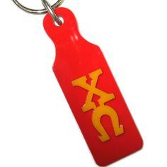 Chi Omega Sorority Mirror Paddle Keychains #greek #sorority #accessories #ChiO #ChiOmega #keychain #paddle #mirror