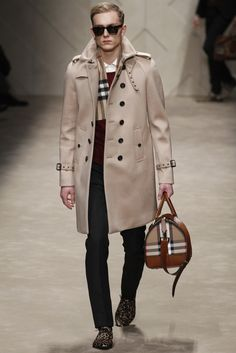 Burberry Prorsum Menswear Fall Winter 2013 Ready-to-Wear Collection
