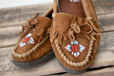 I've wanted a pair of moccasins for a couple years now.  I think it's time to cave in.  I would prefer they be lined so they're nice and toasty.
