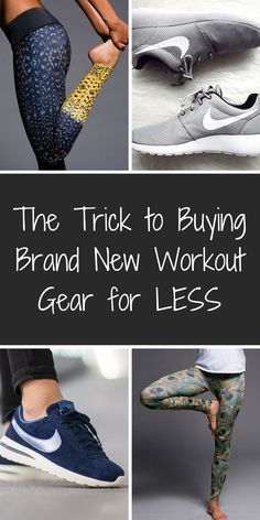 Jump start your workout with brand new gear from top name brands, like Nike, Lululemon, Adidas, Onzie, and hundreds more, at up to 80% off! Shop leggings, tees, tanks, and shoes at prices you won't believe. Click to download the FREE app, and start saving now!