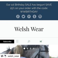 Don't miss the 1st Birthday SALE from @welsh_wear ! #Repost @welsh_wear  You only have today and tomorrow to receive 25% OFF your entire order at WelshWear.com ! Don't miss out on our 1st birthday SALE! #corgi #ETLTIL #PREPPY #corgination #welshwear #sale