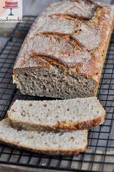 Domowa cookierenka Agi: Chleb żytni codzienny na zakwasie Bread Baking, Banana Bread, Desserts, Recipes, Breads, Top, Thermomix, Baking, Tailgate Desserts