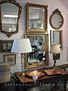 A selection of vintage frames
