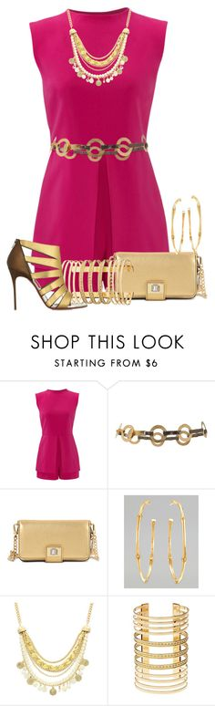 """""""Untitled #1051"""" by rubarr ❤ liked on Polyvore featuring Laundry by Shelli Segal, Suzi Roher, Juicy Couture, John Hardy, Olivia Welles, Charlotte Russe and Christian Louboutin"""