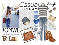 """Casual friday"" by elza-345 ❤ liked on Polyvore featuring Oris, Joe's Jeans, Fendi, Lanvin, Ashley Stewart, Gucci, Bamboo, WallPops and Dot & Bo"