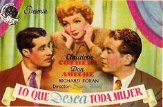 Lo Que Desea Toda Mujer (1945) VOSE