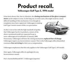 VW ad.