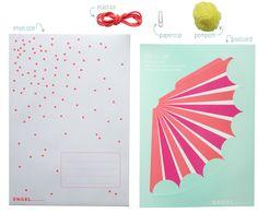 Postkaart Feesthoedje (circus) - Nieuw - Producten   ENGEL. celebrate for life