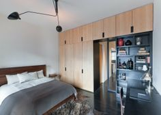 Contemporary Bedroom Steel Frame Blackened Steel Design, Pictures, Remodel, Decor and Ideas - page 3