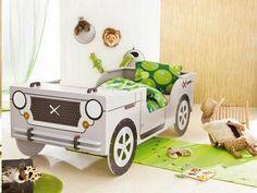 Little Rock Barneseng - Sjov børneseng som Jeep-bil - Kid Beds, Bunk Beds, Car Bed Frame, Diy Lit, Jeep Bed, Photo Booth Business, Race Car Bed, Safari, Kids Bed Frames