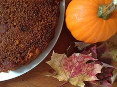 Maple Pumpkin Polenta Cake | Mallory's Kitchen