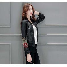 Manteau de moto icon femme