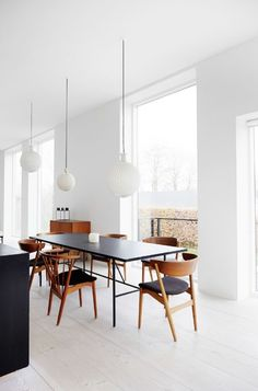 Is To Me | Interior inspiration: A light-filled dining room ♡