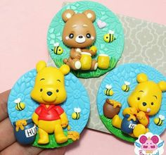 Tweety, Winnie The Pooh, Fondant, Fictional Characters, Cold, Craft, Bears, Cold Porcelain, Figurine