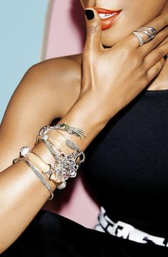 Pretty bangles by Alexis Bittar http://rstyle.me/n/qwjvvnyg6
