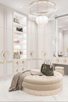 Cultural Architecture, Residential Architecture, Architecture Design, Interior Design Inspiration, Design Ideas, Luxury Closet, Walk In Closet, Interior Decorating, House Design