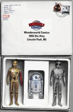 """Star Wars: Special """"Mail Away"""" John Tyler Christopher Wonderworld Comics Exclusive Droids Action Figure Cover Variant: Tyler Christopher, John Tyler, Star Wars Comic Books, Star Wars Comics, Star Wars Memorabilia, Star Wars Action Figures, Comic Book Covers, For Stars, Marvel Dc"""