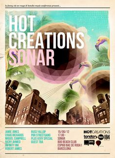 View the Hot Creations Off Sonar flyer