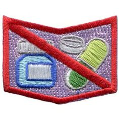 AHG Activity Patches: Medicine Allergy (Give to the girls who have allergies to attach to their vest or sash for unit leaders to know)