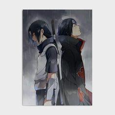 Naruto Shippuden Uchiha Itachi Canvas Poster - 20x30cm No Frame