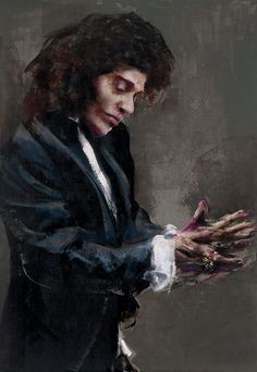 2011 Lita Cabellut born a gipsy girl in the streets of El Raval in Barcelona, Cabellut was adopted at the age of Spanish Painters, Spanish Artists, Jackson Pollock, Rembrandt, Religious People, International Artist, Painting Lessons, Prado, Art Gallery